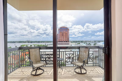 West Palm Beach Condo For Sale: 701 S Olive Avenue #618