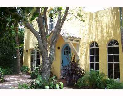 West Palm Beach Single Family Home For Sale: 517 38th Street