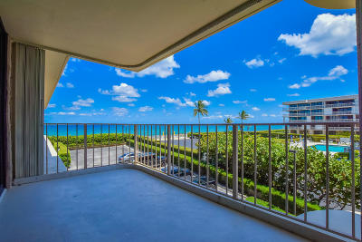 Palm Beach Condo For Sale: 3200 S Ocean Boulevard #A302