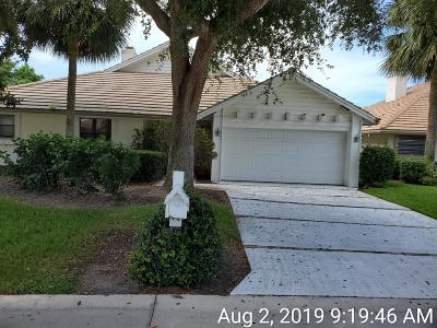 Jupiter Single Family Home For Sale: 17040 Freshwind Circle