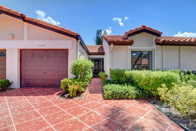 Delray Beach Single Family Home For Sale: 6296 Kings Gate Circle