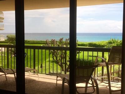 Palm Beach Condo For Sale: 3440 S Ocean Boulevard #205n