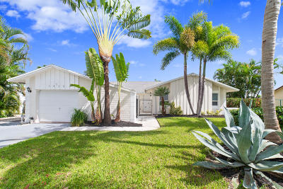 Delray Beach Single Family Home Contingent: 1415 Cormorant Road