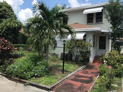 West Palm Beach Single Family Home For Sale: 415 Upland Road