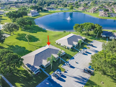 Delray Beach Single Family Home For Sale: 5280 Lake Front Boulevard #D