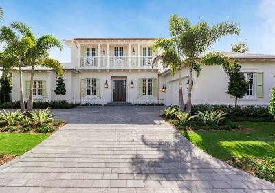 Palm Beach Single Family Home For Sale: 210 Fairview Road