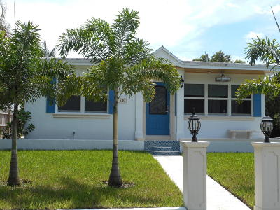 West Palm Beach Single Family Home For Sale: 630 Claremore Drive