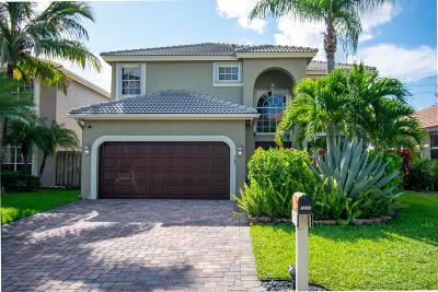 Lake Worth Single Family Home For Sale: 7202 Lake Island Drive