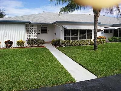 Delray Beach Single Family Home For Sale: 1137 South Drive #B