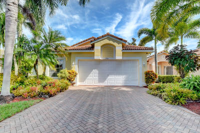 Boynton Beach Single Family Home Contingent: 7701 Cherry Blossom Way