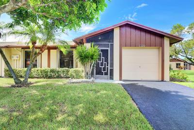 Delray Beach Single Family Home For Sale: 5323 Viburnum Circle