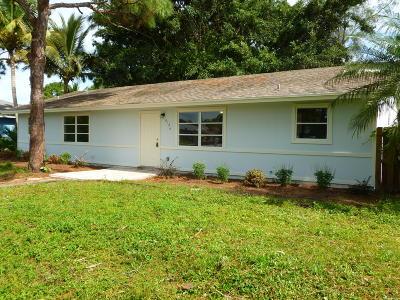 Hobe Sound Single Family Home For Sale: 6126 SE Circle Street