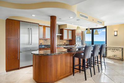 Palm Beach Condo For Sale: 3360 S Ocean Boulevard #3fii