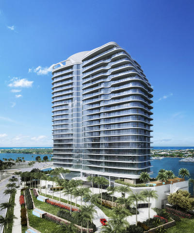 West Palm Beach Condo For Sale: 1100 S Flagler Drive S #602