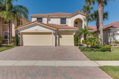 Lake Worth Single Family Home For Sale: 8302 Genova Way