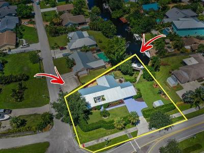 Martin County Single Family Home For Sale: 2333 SW Murphy Road