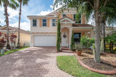 Royal Palm Beach Single Family Home For Sale: 587 Belle Grove Lane