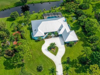 Palm City Single Family Home For Sale: 3795 SW Bimini Circle S