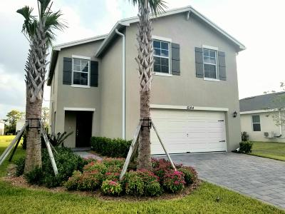 West Palm Beach Single Family Home For Sale: 6144 Wildfire Way