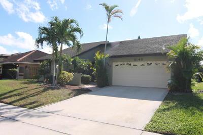 Boca Raton Single Family Home For Sale: 6140 Amberwoods Drive