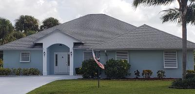 St Lucie County Single Family Home For Sale: 4346 Gator Trace Circle