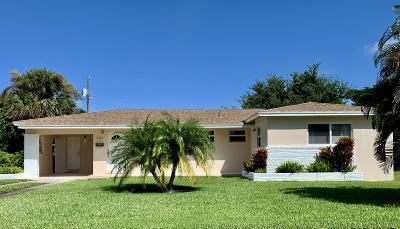 Lake Park Single Family Home For Sale: 445 Flagler Boulevard