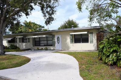 North Palm Beach Single Family Home For Sale: 2091 Palm Circle