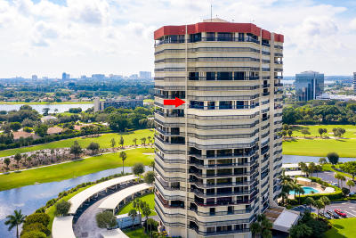 West Palm Beach Condo For Sale: 1900 Consulate Place #1506