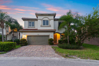 Riviera Beach Single Family Home For Sale: 1085 Center Stone Lane