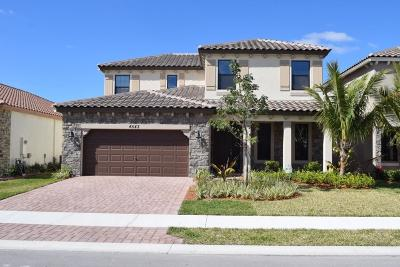 Lake Worth Single Family Home For Sale: 4543 Sandy Cove Terrace