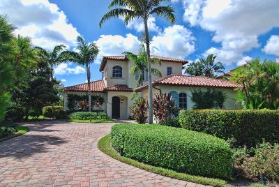 Jupiter Single Family Home For Sale: 620 White Pelican Way