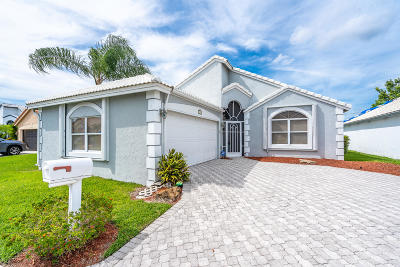 Delray Beach Single Family Home For Sale: 7727 Great Glen Circle