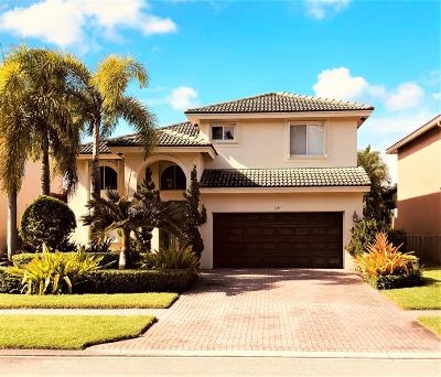 Royal Palm Beach Single Family Home For Sale: 314 Venice Boulevard