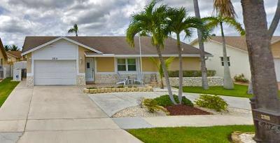 Boca Raton Single Family Home For Sale: 23111 SW 53rd Avenue