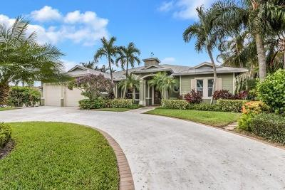 Tequesta Single Family Home For Sale: 24 Tradewinds Circle