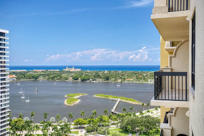 West Palm Beach Condo For Sale: 701 S Olive Avenue #2014