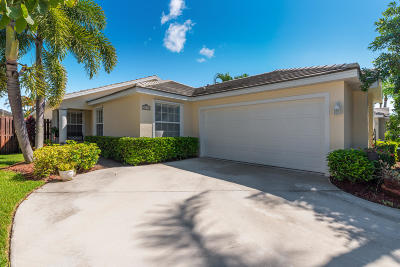 Martin County Single Family Home Contingent: 3531 SW Coco Palm Drive