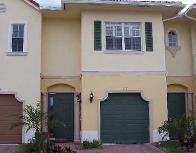 Royal Palm Beach Townhouse For Sale: 107 Bella Vita Drive
