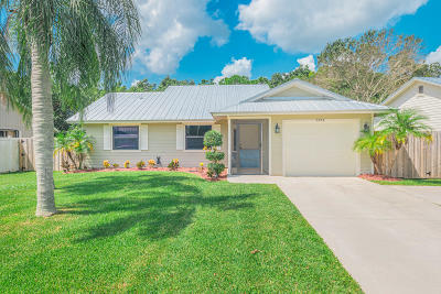Stuart Single Family Home For Sale: 6774 SE Raintree Avenue