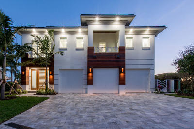 Delray Beach Single Family Home For Sale: 924 Evergreen Drive