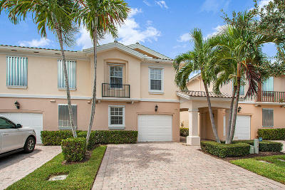Palm Beach Gardens Townhouse For Sale: 313 Salinas Drive