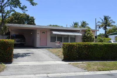West Palm Beach Single Family Home For Sale: 1307 11th Street