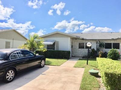 West Palm Beach Single Family Home For Sale: 5432 Janice Lane