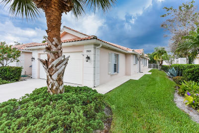 West Palm Beach Single Family Home For Sale: 7801 Nile River Road