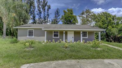 Loxahatchee Single Family Home For Sale: 16435 E Calder Drive