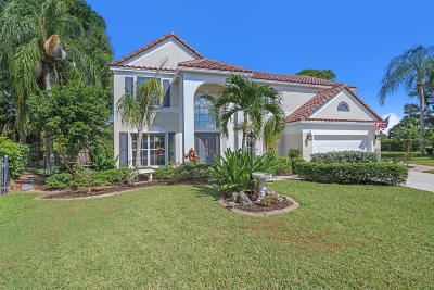 West Palm Beach Single Family Home For Sale: 12901 Marsh Pointe Way