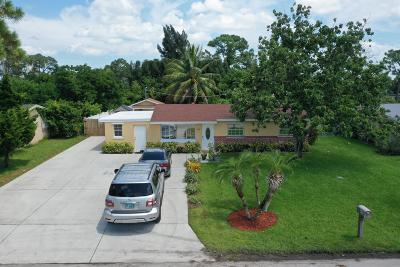 West Palm Beach Single Family Home For Sale: 800 Mango Drive