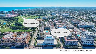 Boca Raton Condo For Sale: 99 SE Mizner Boulevard #427