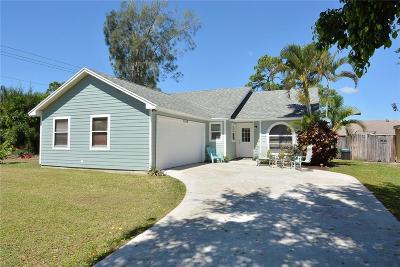 Stuart Single Family Home For Sale: 5964 SE Tangerine Boulevard