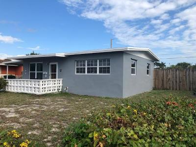 West Palm Beach Single Family Home For Sale: 1383 10th Street
